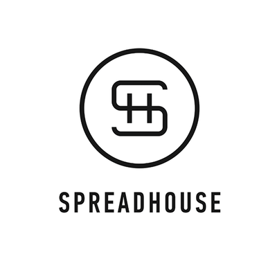Logo spreadhouse komeeda mazeish displaced dinners